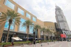 Dubai-Straßen-Ansicht Lizenzfreies Stockfoto