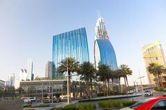 Dubai-Straßen Stockfoto