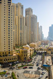 Dubai street  Royalty Free Stock Images
