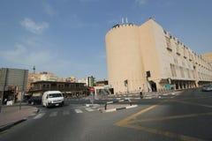Dubai street view Stock Image