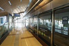 Dubai subway interior Stock Photos