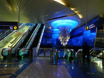 Dubai Subway Station Royalty Free Stock Photos