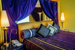 Dubai. Summer 2016. The interior of hotel Burj al Arab. Royalty Free Stock Photography