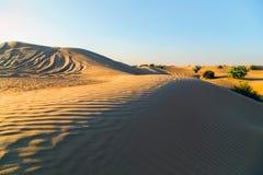 Dubai sunset desert sahara dune sand, United Arab Emirates, Dubai. Tourist attractions Sand desert safari Dubai - sunset desert sahara dune sand natural textured stock images