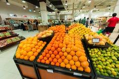 Dubai Supermarket Waitrose Stock Photography