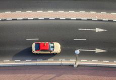 Dubai taxi Royalty Free Stock Photo