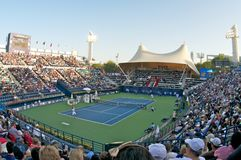 Dubai tennis 2012 Stock Photos