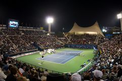 Dubai tennis tournament 2012 Royalty Free Stock Photo