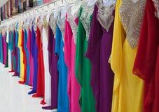 Dubai textile market Royalty Free Stock Image