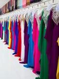 Dubai textile market Stock Photo