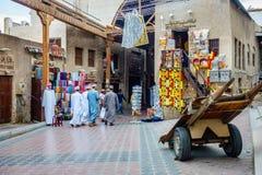 Dubai Textile Souk Royalty Free Stock Photos