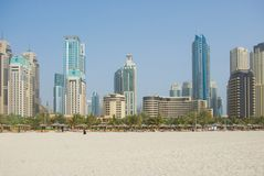 Dubai Town scape in Dubai Royalty Free Stock Photos