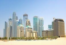 Dubai Town scape in Dubai Stock Image