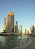 Dubai. Town scape at summer Royalty Free Stock Images