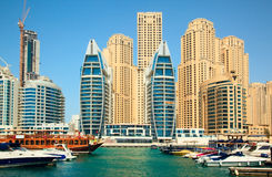 Dubai. Town scape at summer Stock Photos