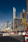 Dubai traffic Royalty Free Stock Images