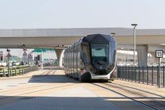 Dubai-Tram (vorher Al Sufouh Tram) lizenzfreie stockfotos