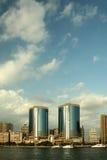 Dubai-Tween-Kontrolltürme   Lizenzfreie Stockfotografie