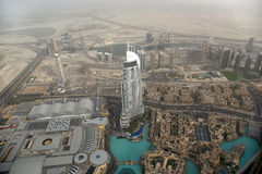 Dubai, UAE. Aerial view Royalty Free Stock Photos