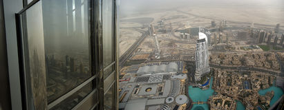 Dubai, UAE. Aerial view Royalty Free Stock Images