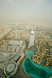 Dubai, UAE. Aerial view Royalty Free Stock Photo