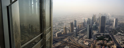 Dubai, UAE. Aerial view Stock Photos