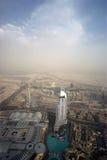 Dubai, UAE. Aerial view from the height of Burj Khalifa Stock Photo