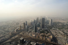 Dubai, UAE. Aerial view Royalty Free Stock Photo