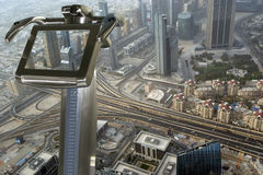 Dubai, UAE. Aerial view Stock Image