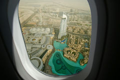 Dubai, UAE. Aerial view Stock Images
