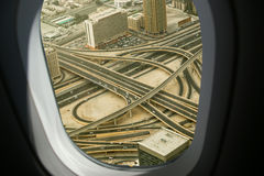 Dubai, UAE. Aerial view Royalty Free Stock Image