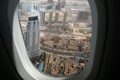 Dubai, UAE. Aerial view Royalty Free Stock Photography