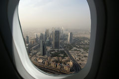 Dubai, UAE. Aerial view Stock Photography