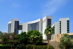 Dubai, UAE - April 8. 2018. View of hotel Grand Hyatt. Stock Photography