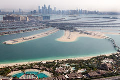 Dubai, UAE. Atlantis hotel from above Stock Photography