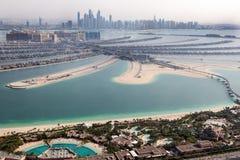 Dubai, UAE. Atlantis hotel from above Stock Photography