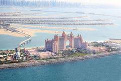 Dubai, UAE. Atlantis hotel from above Stock Photos