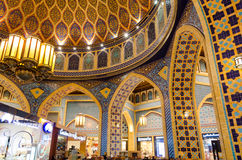 Dubai, UAE, Battuta-Einkaufszentrum, im November 2015 Stockfoto