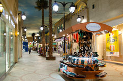 Dubai, UAE,Battuta Shopping mall, November 2015 Stock Photos