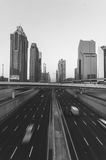 Dubai, UAE. Black and White series Stock Photography