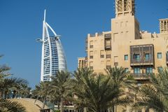 Dubai. Burj Al Arab hotel Royalty Free Stock Images