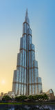 DUBAI, UAE: Burj khalifa, Downtown on September 29, 2014 Stock Image