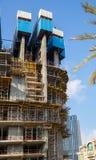 DUBAI, UAE 16 DE JANEIRO: Arranha-céus no centro da cidade em janeiro Fotos de Stock