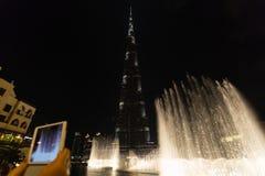 DUBAI, UAE 16 DE JANEIRO: Arranha-céus no centro da cidade em janeiro Imagem de Stock