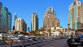 DUBAI, UAE - 4 DE JUNHO: A área residencial Fotografia de Stock