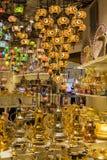 DUBAI, UAE - 11 DE MARZO DE 2019: Pabellón de Turquía en el pueblo global en Dubai, UAE, según lo visto el 11 de marzo de 2019 imágenes de archivo libres de regalías