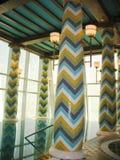 Termas e health club de Assawan no hotel árabe do Al de Burj em Dubai. Fotos de Stock Royalty Free