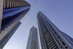 Cityscape of Dubai, UAE royalty free stock images