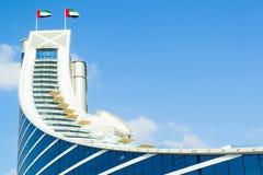 DUBAI UAE - December, 10, 2013: Hotell i Dubai Royaltyfria Bilder