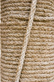 Dubai UAE Detail of rope pillar on display at Heritage Village in Bur Dubai Stock Photo